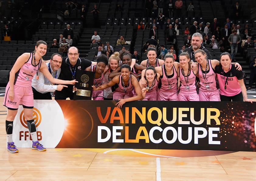 Roannais Basket Féminin Coupe de France 2016