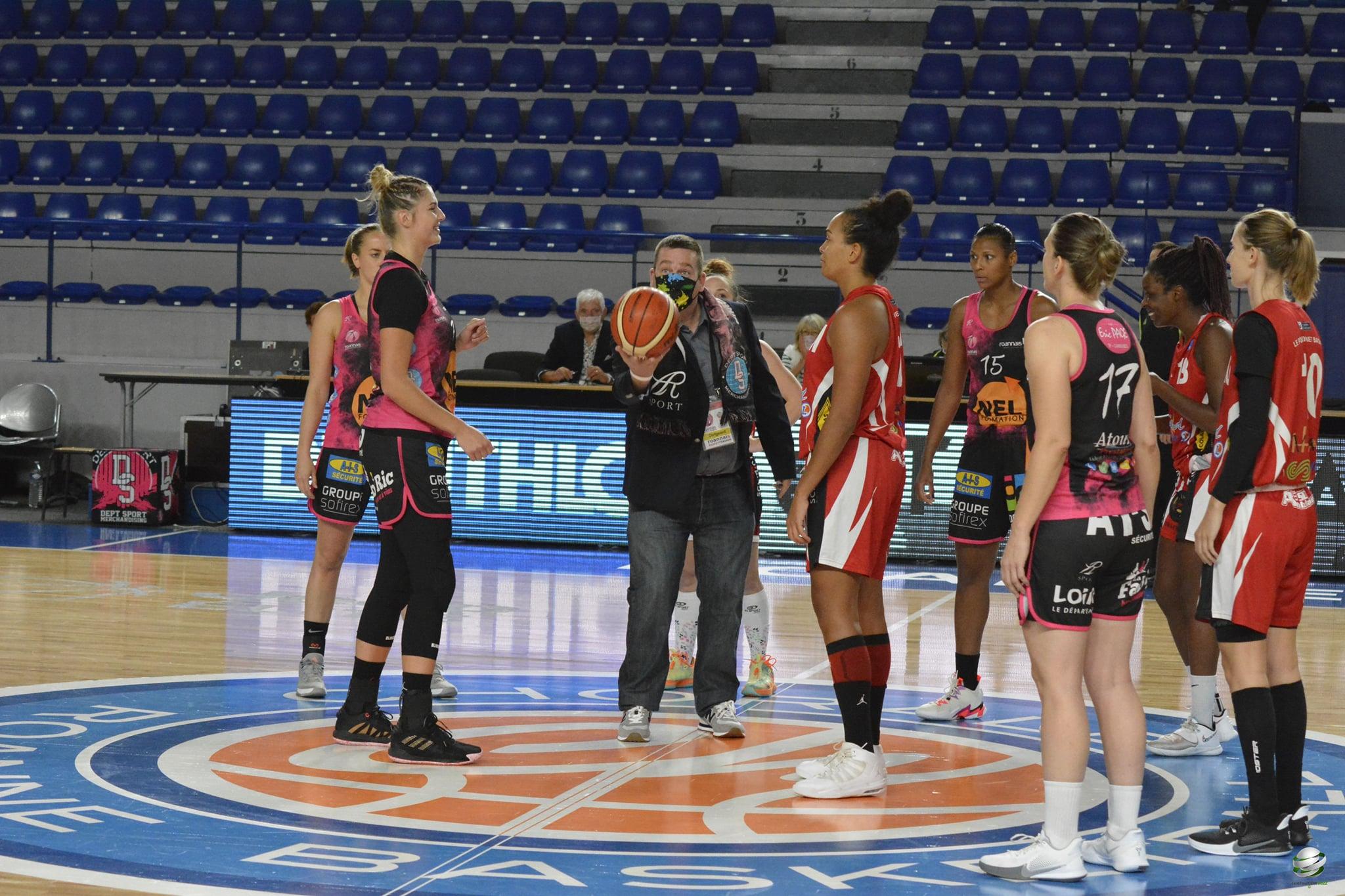 MAtch Roannais Basket Féminin Nationale 1