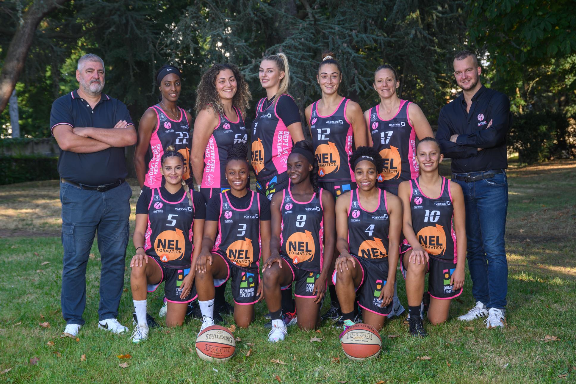 Effectif Roannais Basket Féminin